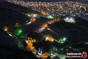 کوه آبیدر منظره رویایی سنندج