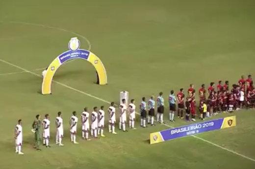 فیلم | اتفاق عجیب وسط پخش سرود ملی در برزیل