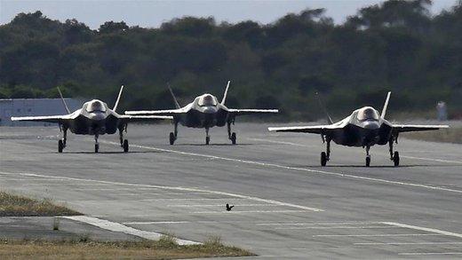 افزایش تنش میان واشنگتن و آنکارا/ آموزش خلبانهای  اف-۳۵ ترکیه متوقف شد