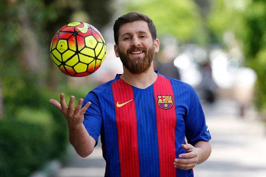 فیلم | پشت پرده ملاقات نافرجام بدل ایرانی مسی با ستاره بارسلونا