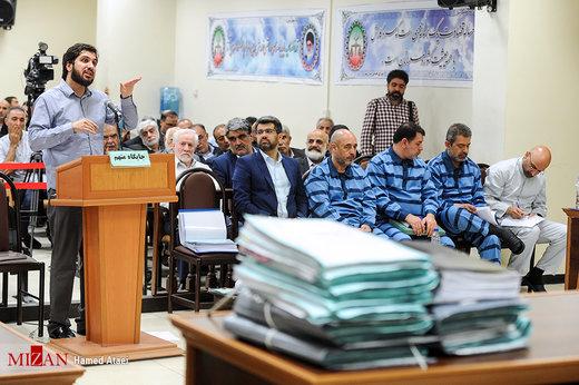 نماینده دادستان خطاب به هادی رضوی: اگر قراردادها جعلی است چرا به بانک نامه زدید؟