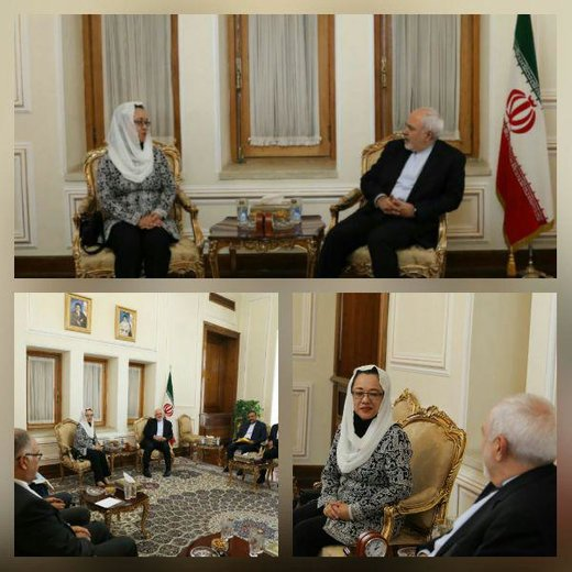 Iranian FM, ESCAP chief discuss regional, global issues