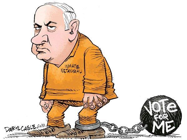 درخواست نتانیاهو پیش از بازجویی: به من رأی بدید!