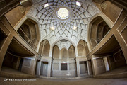 تصاویر | جلال و جبروت معماری ایرانی در خانه عباسیان