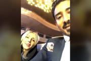 فیلم | تفریح رضا قوچاننژاد و همسرش در تهران