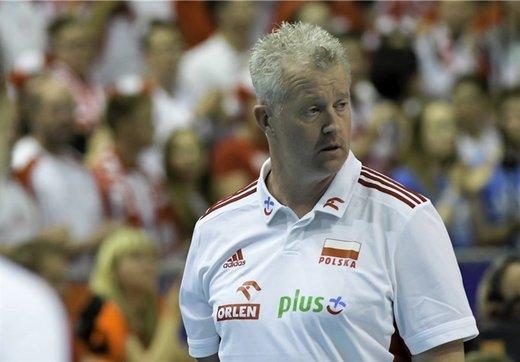 واکنش سرمربی تیم ملی والیبال لهستان به اظهارات خصمانه کوبیاک