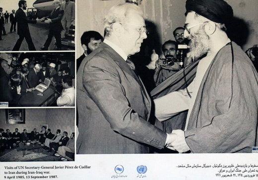 پشت پرده یک عکس پرمعنا از رهبر انقلاب