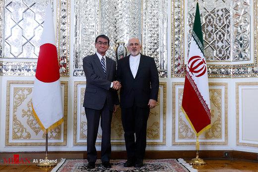 دیدار وزیر امور خارجه ژاپن با ظریف
