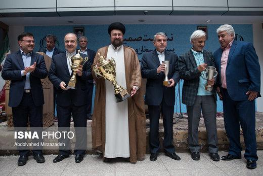 نشست صمیمی پیشکسوتان ورزش ایران با سید حسن خمینی