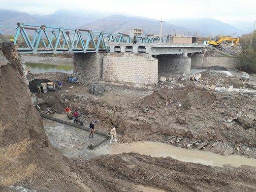 پل هاشمآباد ارومیه آماده بهرهبرداری میشود