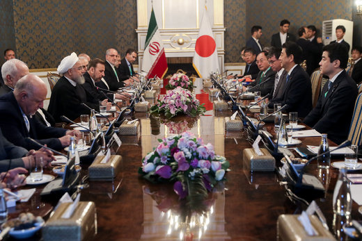 President Rouhani: Japanese PM's visit to Iran, turning-point in Tokyo-Tehran ties