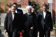 President Rouhani departs for Kyrgyzstan