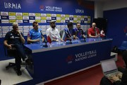 تصاویر | نشست خبری سرمربیان تیمهای حاضر در هفته سوم لیگ ملتهای والیبال