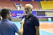 تمجید داور بینالمللی و مشهور والیبال از جو والیبالی شهر ارومیه