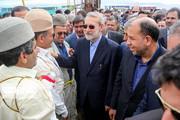 عکس سلفی عشایر با علی آقای لاریجانی