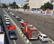 فرهنگ درست  کمک به آتشنشانی در ارومیه/ عکس