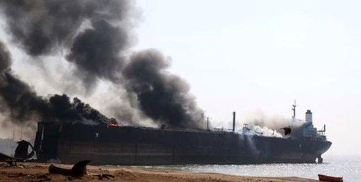 حمله به ۲ کشتی تجاری مرتبط با ژاپن در نزدیکی تنگه هرمز
