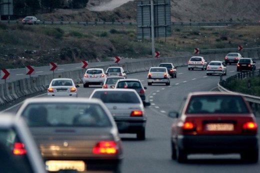 بسته شدن ۹ جاده در کشور/ محور کرج-مرزنآباد یکطرفه میشود