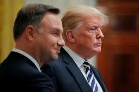 امضای بیانیه افزایش نیروهای آمریکایی در لهستان