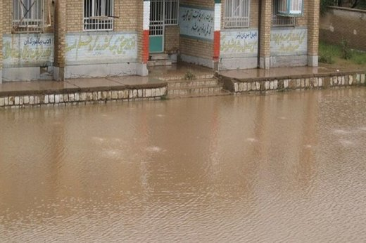 ۱۲۰۰ مدرسه کشور از سیلابهای بهاری خسارت خوردند