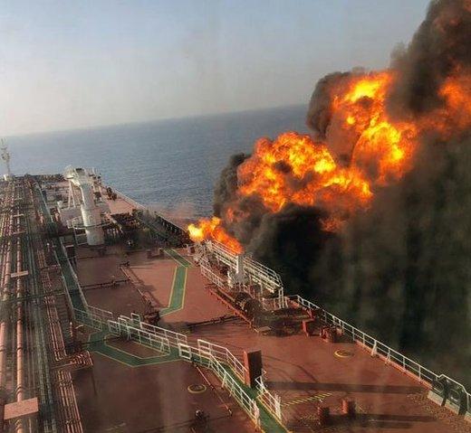 واکنش شرکت فرانتلاین درباره حادثه دریای عمان