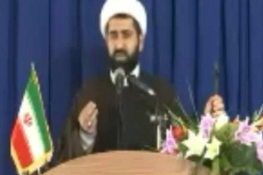 فیلم   خطبه فوتبالی امام جمعه اسالم گیلان در نماز جمعه