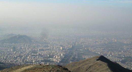 بعدازظهر امروز تهران آلوده است/ ازن در آستانه محدوده ناسالم