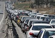 اعلام وضعیت ترافیک جادهها/  ترافیک جاده چالوس سنگین