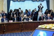 تصاویر | استقبال رئیسجمهور قرقیزستان از روحانی و آغاز بهکار اجلاس سازمان همکاری شانگهای