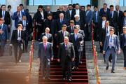 تصاویر | رئیسجمهور در حاشیه نوزدهمین اجلاس سازمان همکاری شانگهای