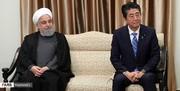 آبه چه درخواستی را از سوی ترامپ به ایران اعلام کرد؟