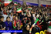 حضور بانوان برای تماشای مسابقات فوتسال آسیا در ارومیه؛ رایگان و آزاد