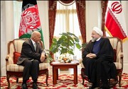 Afghan president calls for Iran's active role in peace talks