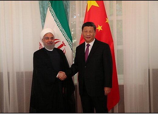 تصویری از دیدار مهم روحانی و رئیسجمهور چین