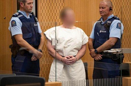 عامل حمله به مسجد نیوزیلند: بیگناهم!