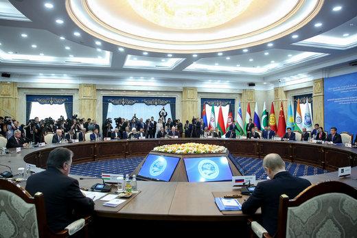 حضور روحانی در نوزدهمین اجلاس سازمان همکاری شانگهای