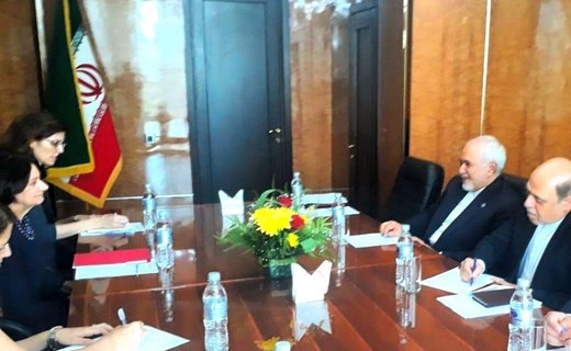 Iran FM, UN official discuss issues of mutual interest