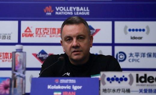 کولاکوویچ: در برخی زمانها مشکلاتی داشتیم اما در نهایت پیروز شدیم