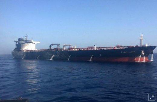 انگلیس نفتکش ایران را توقیف کرد