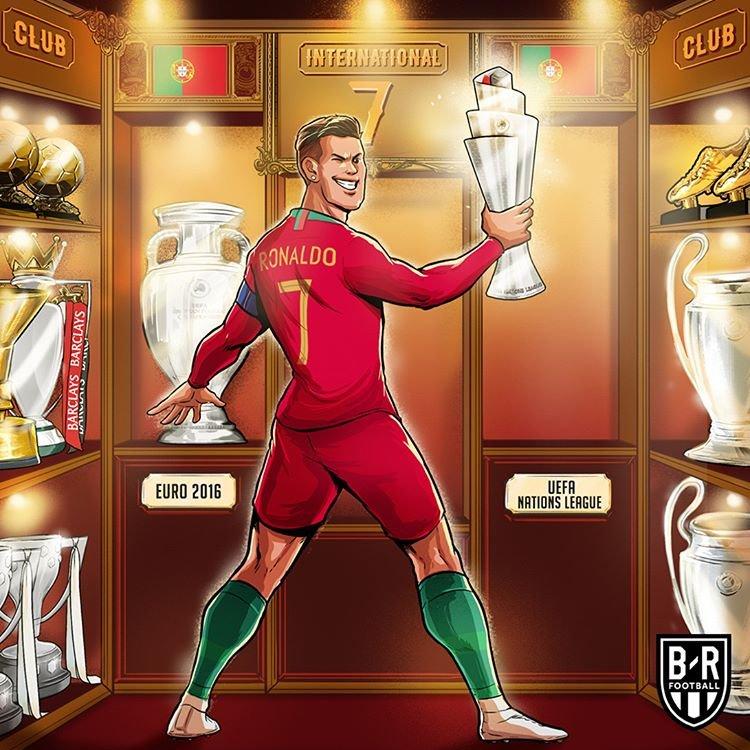 اینم جدیدترین جام در کلکسیون افتخارات رونالدو!