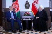 تصاویر | دیدار صمیمانه حسن روحانی با عبدالله عبدالله