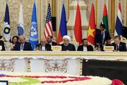 تصاویر   سخنرانی رئیسجمهور روحانی در اجلاس سیکا