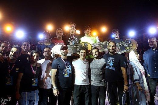 مسابقات پارکور قهرمانی کشور