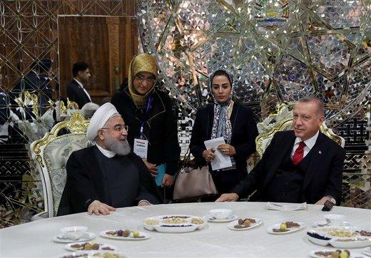 رایزنی روحانی و اردوغان درباره مبارزه با تروریسم و توسعه روابط تجاری