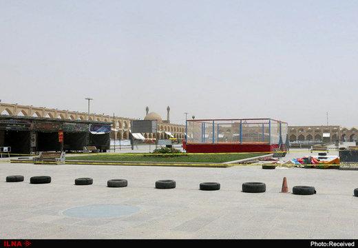 شهربازی وسط میدان عقیق اصفهان؟/ توضیح مدیرکل میراث و گردشگری
