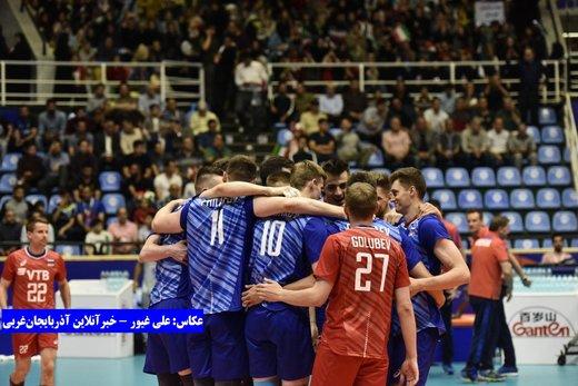 تصاویر | دیدار تیمهای روسیه و کانادا