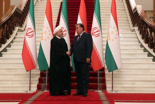در دیدار روحانی و رئیس جمهور تاجیکستان چه گذشت؟