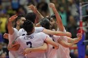 برد بیدردسر والیبالیستهای ایران مقابل قطر