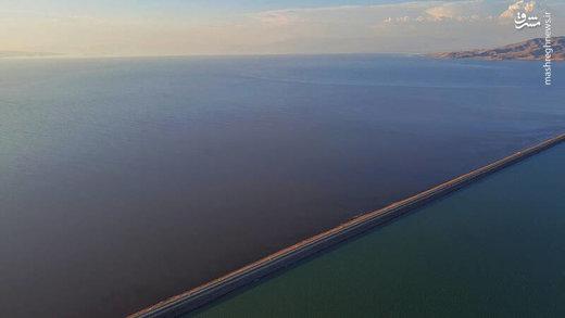 حال خوش دریاچه ارومیه