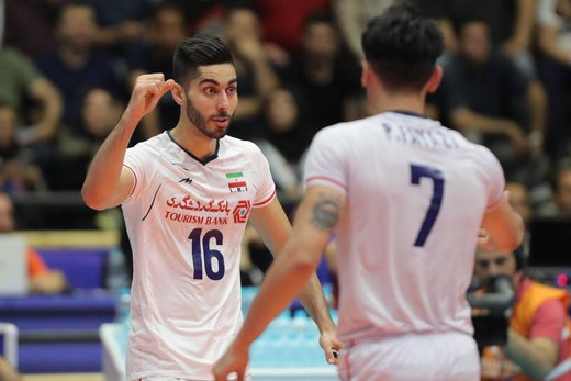 Iran overpowers Russia in FIVB Volleyball Men's Nations League
